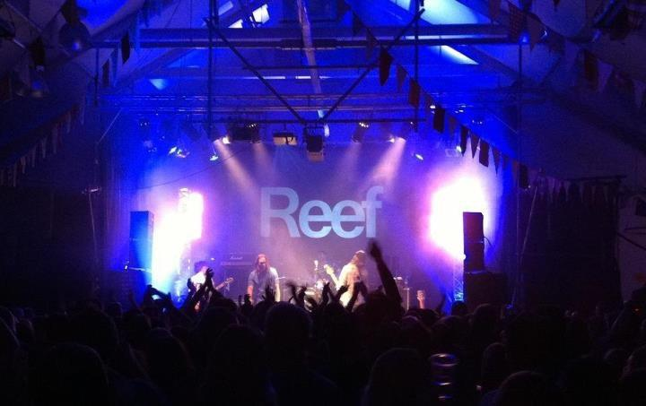 Lighting for Reef at the Cheese and Grain Frome