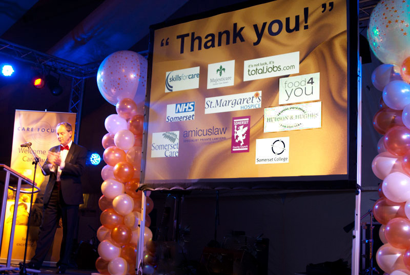 Sound, Lighting and Audio-Visuals for the Care Focus Awards