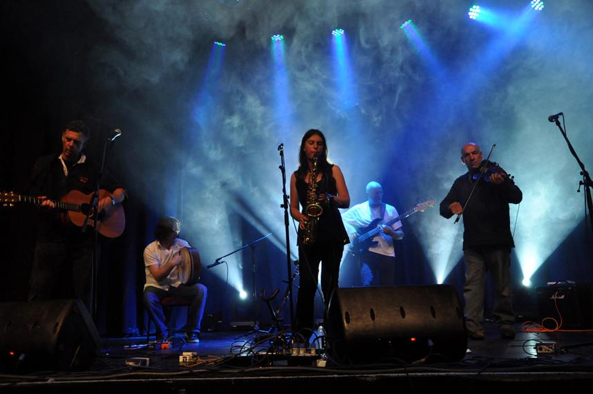 Sound and Lighting for Burnham-on-Sea Folkfest