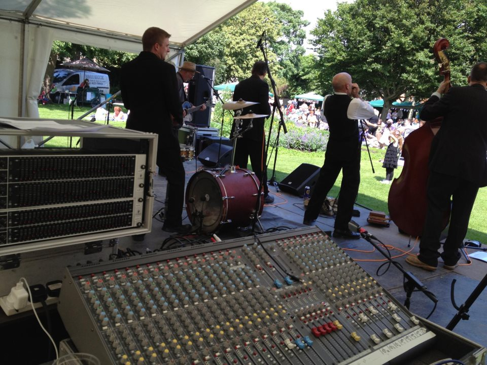 Sound for Party in the Park, Burnham-on-Sea