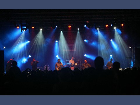 Lighting Dreadzone at Watchet Live